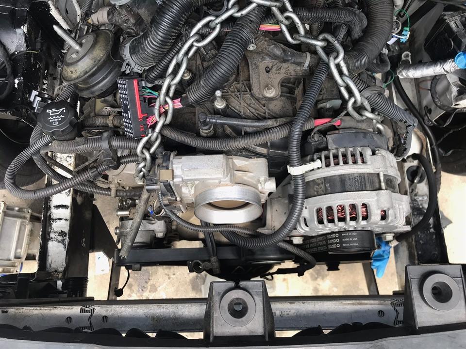 07 Sprinter V8 LS 6 2 Conversion Engine Swap - Sprinter-Forum