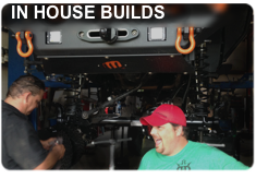 IN HOUSE BUILDS